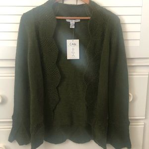 Brand New Green Cabi Sweater -best offer!!